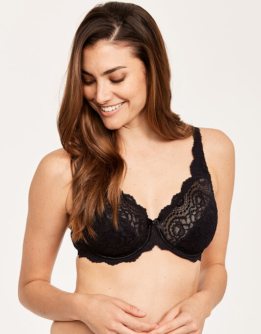 Playtex Affinity Flower Lace Underwired Bra