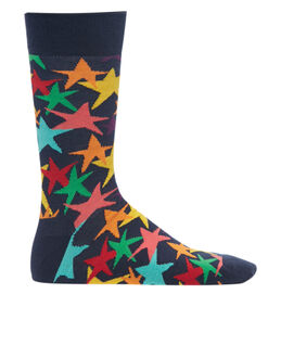Happy Socks Stars Print Sock