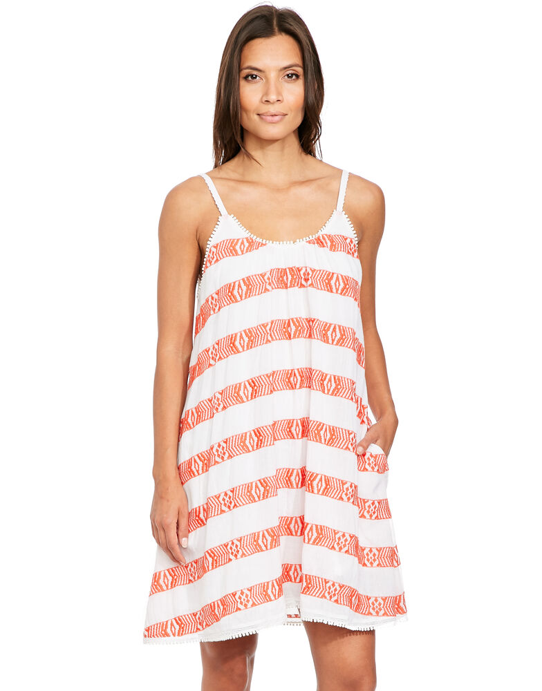 Luau Cotton Beach Dress