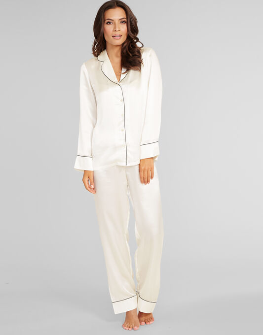 Julianne Coco Silk PJ Set