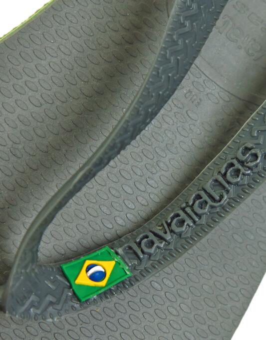Brasil Flag Detail Flip Flop