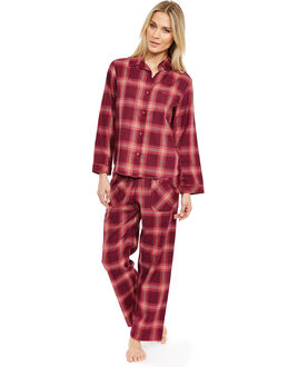 Cyberjammies Deck The Halls Check PJ Set