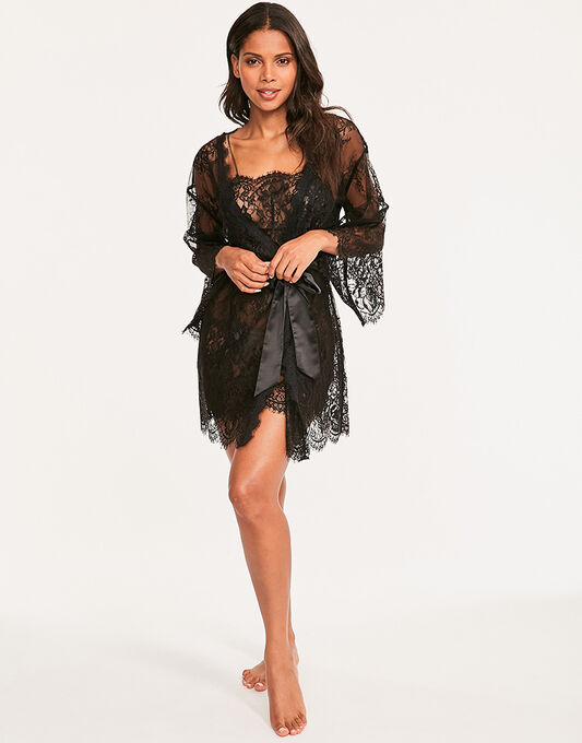 Gigi Galloon Lace Robe