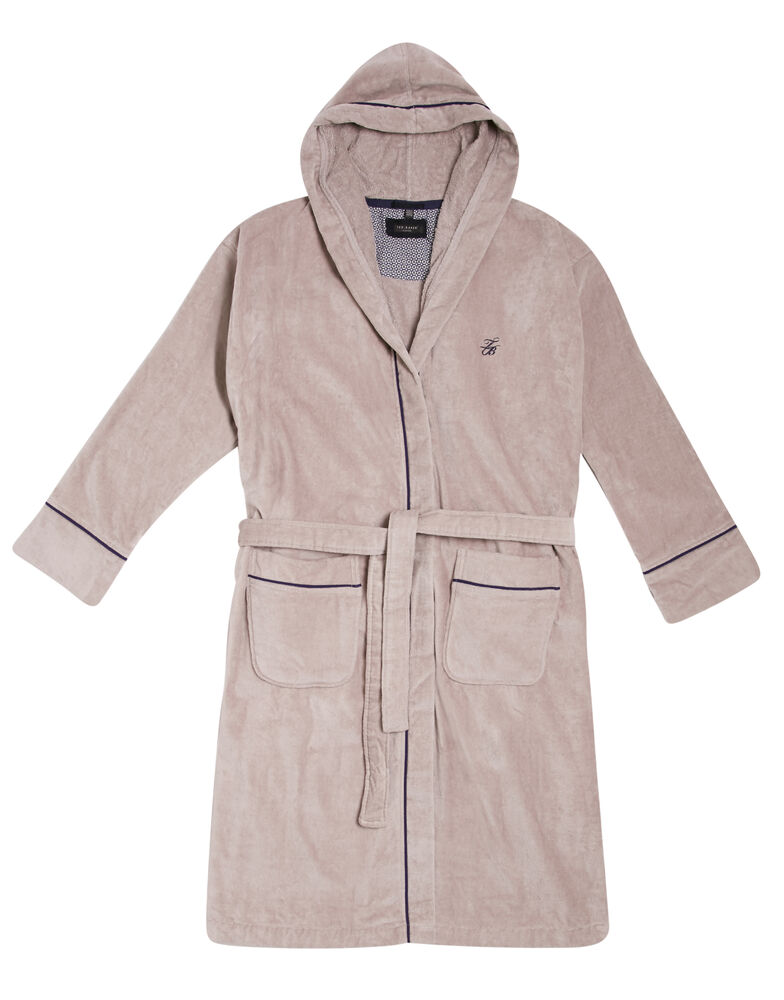 Padrec Velour Dressing Gown 1160219