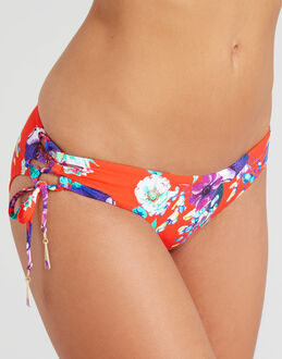 Seafolly Field Trip Tie Side Hipster Brief