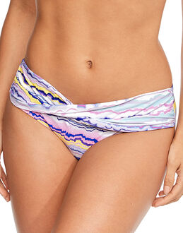 figleaves Mineral Stripe Twist Brief