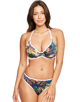 Freya Swim Club Tropicana Underwired Convertible Banded Halter Bikini Top