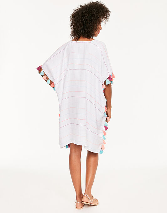 Seafolly Modern Love Multi Stripe Kaftan