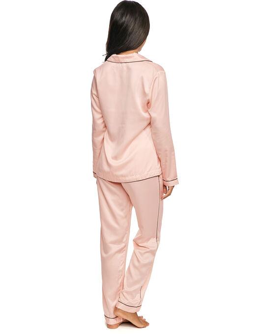 figleaves Satin Plain Pyjama Set