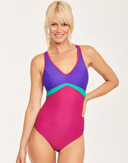 Zoggs Havana Poolside Wyomi X Back Swimsuit