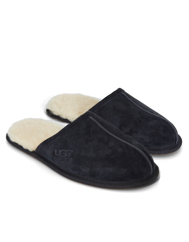 bf0b5b150c7 Ugg Australia Scuff Slipper Mens Black Suede - cheap watches mgc-gas.com