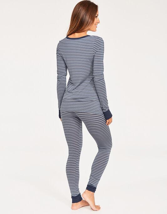 DKNY City Stripes Top & Legging Set