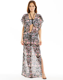Freya Swim Zodiac Plunge Neck Maxi Dress