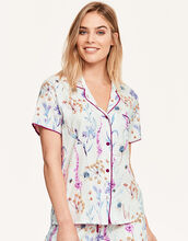 Florence Floral Print Top