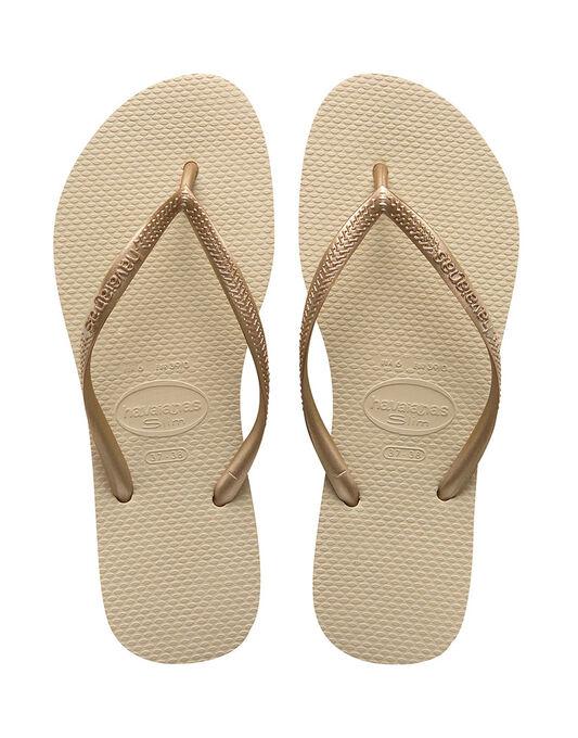 Slim Plain Flip Flop