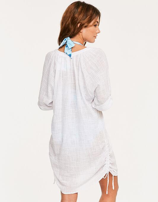 Seafolly Textured Gauze Beach Shirt