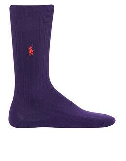 Polo Ralph Lauren Egyptian Cotton Ribbed Sock