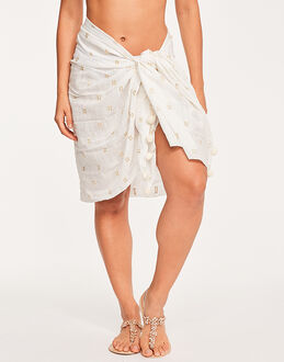 Seafolly Spice Temple Metallic Jacquard Sarong