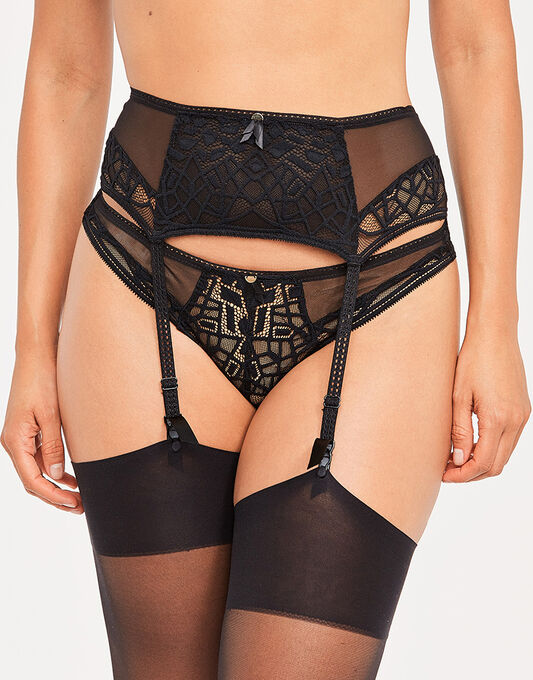 Soiree Lace Suspender