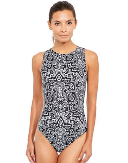 Zoggs Bohemian Magic Hi Front Swimsuit