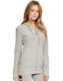 Calvin Klein Seamless Logo Top Hoodie with Zip