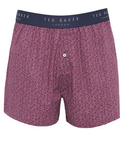 Ted Baker Twillnd Star Print Woven Boxer