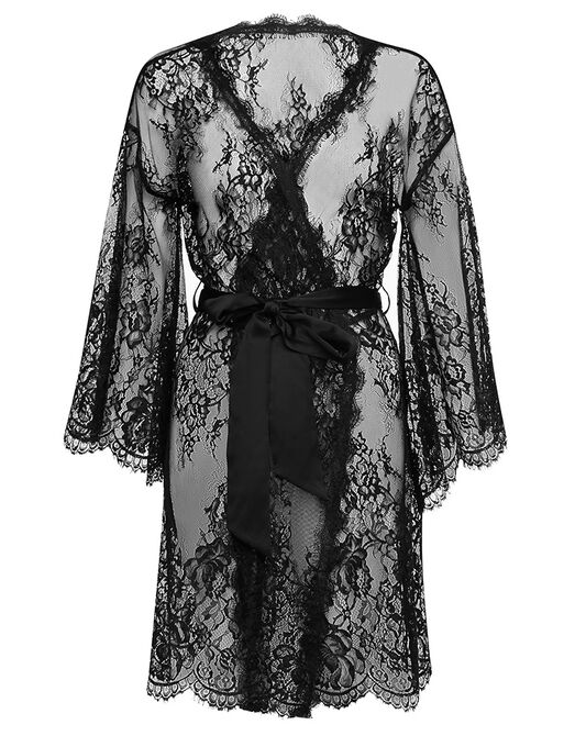 figleaves Gigi Galloon Lace Robe