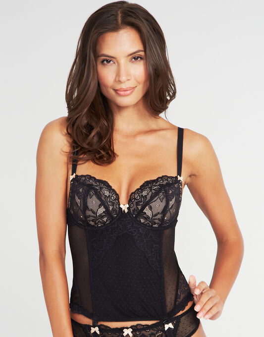 figleaves Lace B-G Basque