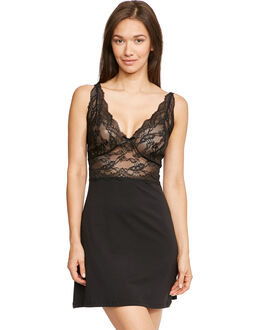 figleaves Pandora Stretch Lace Chemise