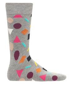 Happy Socks Play Shape Print Sock