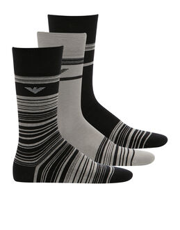 Emporio Armani Stretch Cotton 3 Pack Sock Gift Set