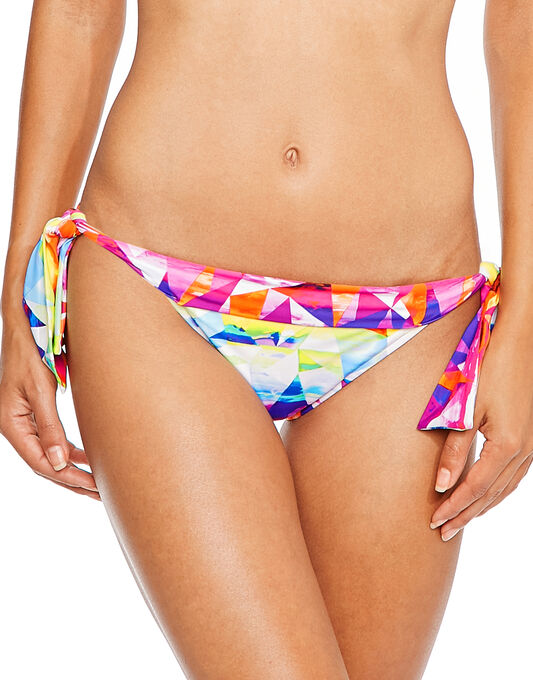 Seafolly Future Sound Hipster Tie Side Brief