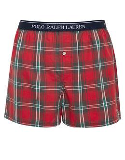 Polo Ralph Lauren Plaid Woven Boxer