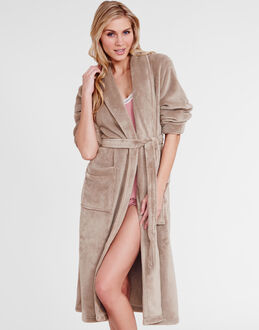 figleaves Snuggle Shawl Collar Robe