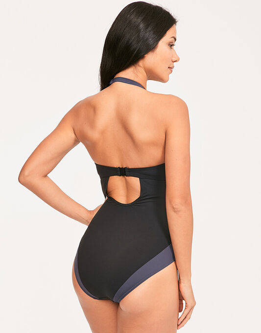 figleaves Edge Colourblock Underwired Shaping Swimsuit