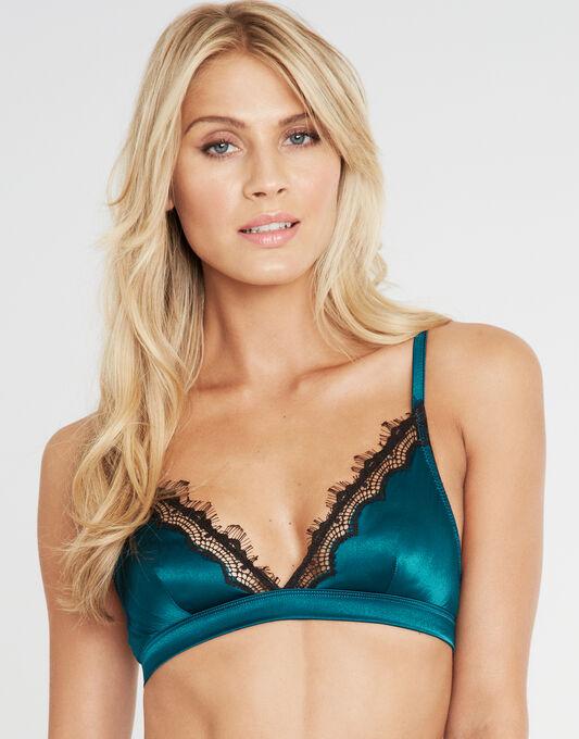 Mimi Holliday Bisou Bisou Azure Non Underwired Triangle Bra