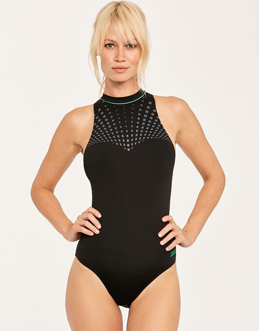 Peak Hi Neck Swimsuit