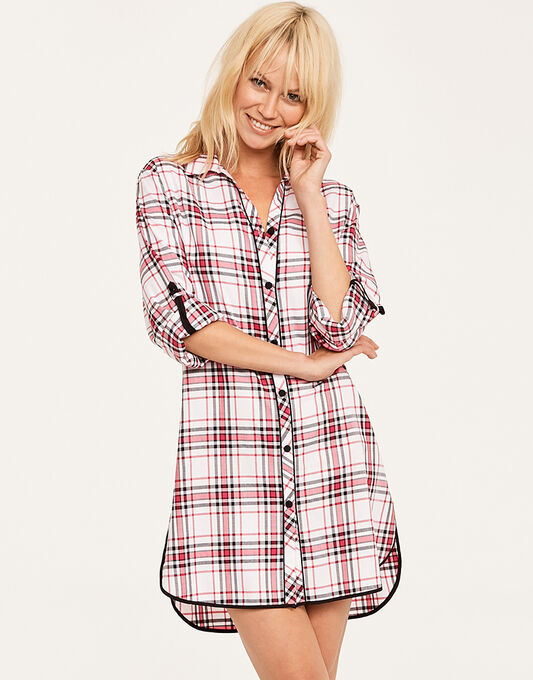 Pandora Check Nightshirt