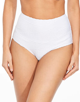 figleaves Icon Pleat High Waisted  Brief