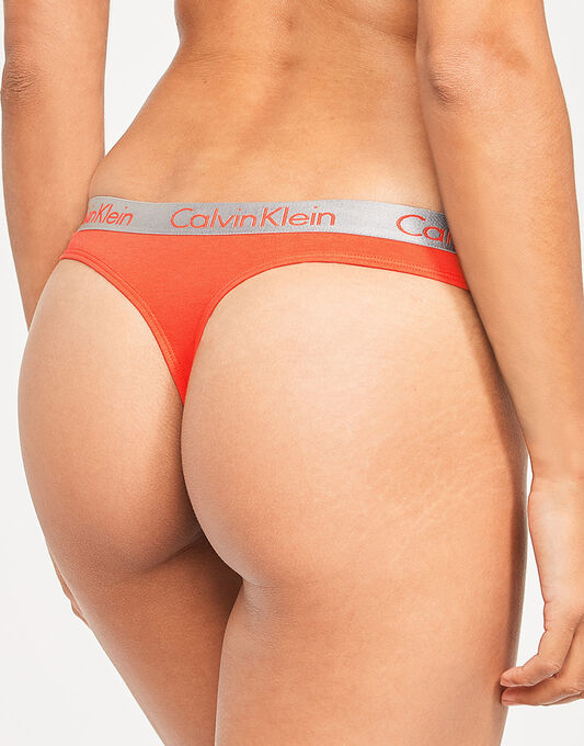 Calvin Klein Radiant Cotton Thong 3PK