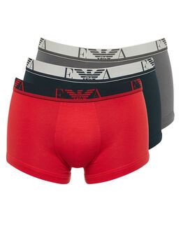 Emporio Armani Stretch Cotton 3 Pack Trunk