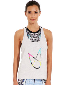 Mink Pink Rhythm Go The Distance Tank Top