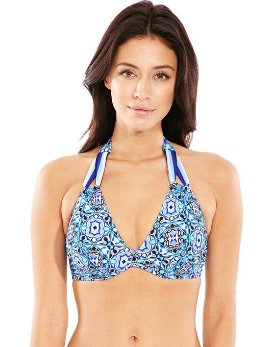 figleaves Alhambra Underwired Halter Bikini Top