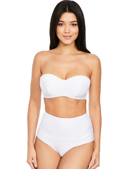 figleaves Icon Pleat Bandeau Bikini Top