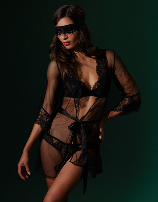 L'Agent by Agent Provocateur Idalia Short Gown