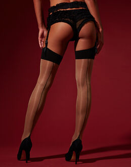 L'Agent by Agent Provocateur Hosiery Seam & Heel Stocking
