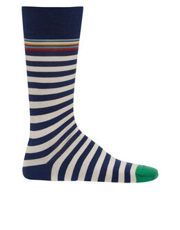 Paul Smith Multi Top Stripe Sock
