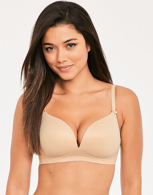 Deco Moulded Softcup Bra