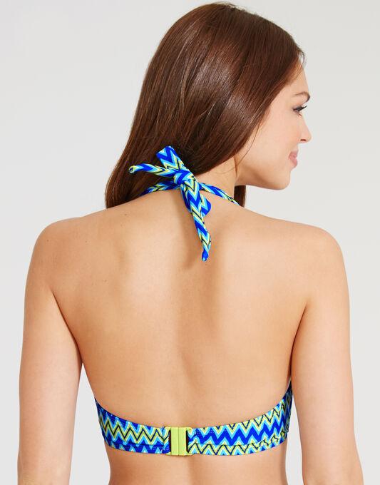 Shockwave Halterneck Bikini Top