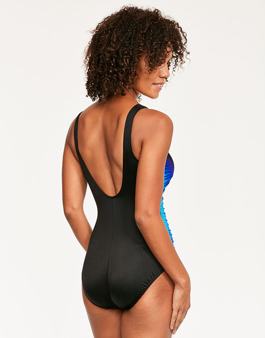 Miraclesuit Black Gulfstream Temptress Firm Control Swimsuit